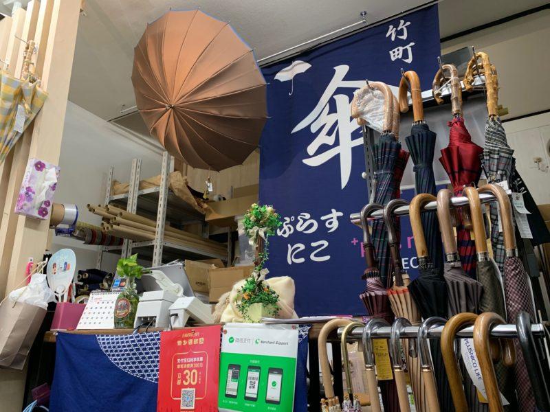 ぷらすにこ傘工房