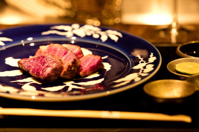 Teppanyaki steak SHU Ginza